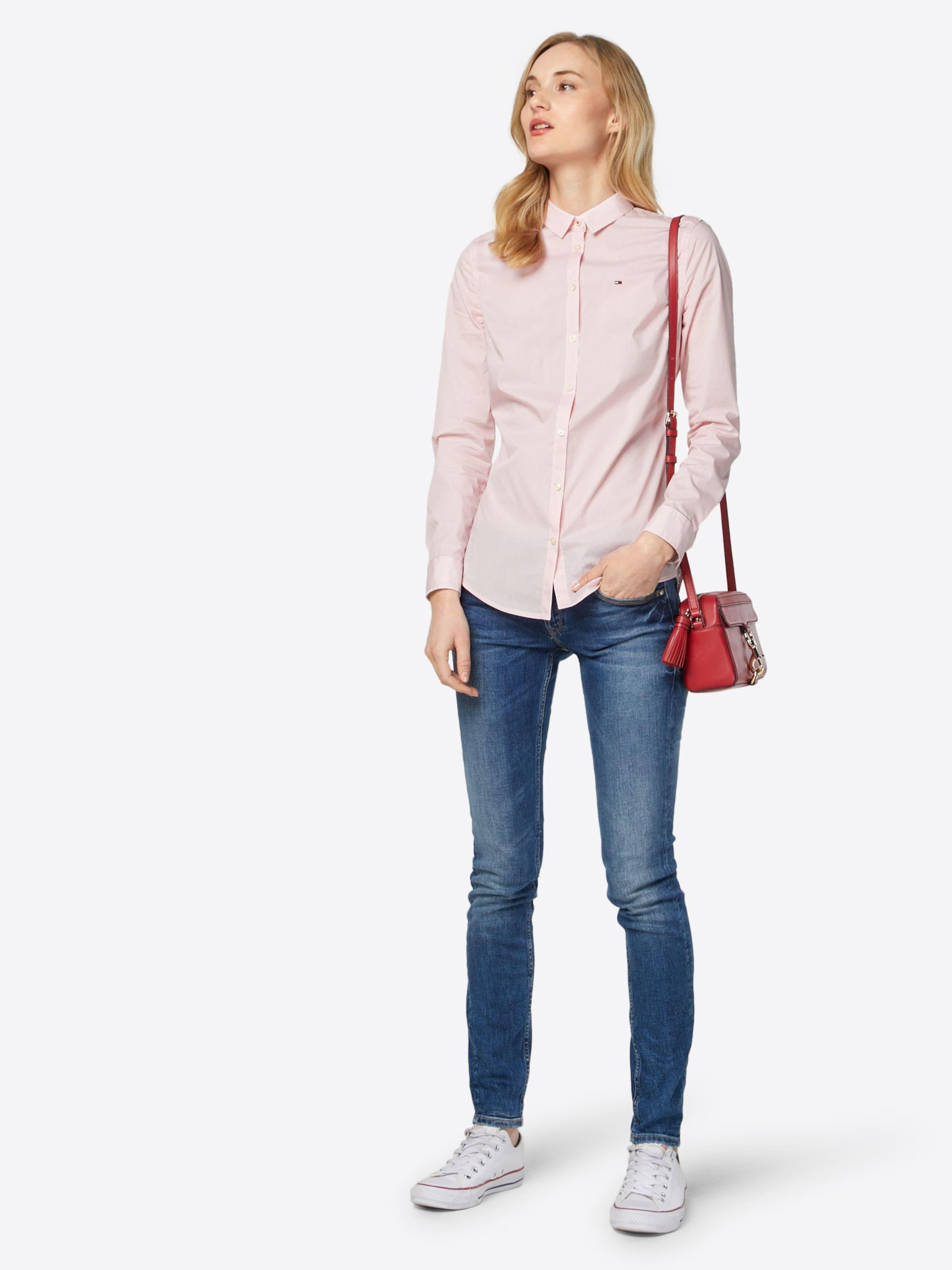 100% Original Tommy Jeans klassische Bluse Sammlungen Online Spielraum Breite Palette Von Die Besten Preise Günstiger Preis Kauf Verkauf Online SdArwA7hqR
