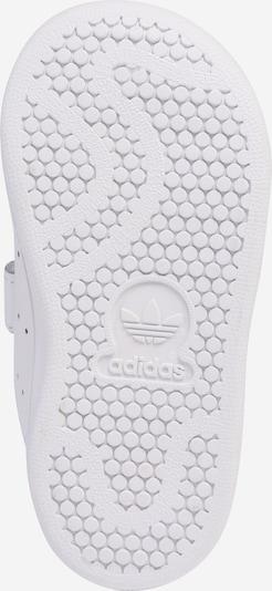 Sneaker 'Stan Smith' ADIDAS ORIGINALS pe alb: Privire de sus