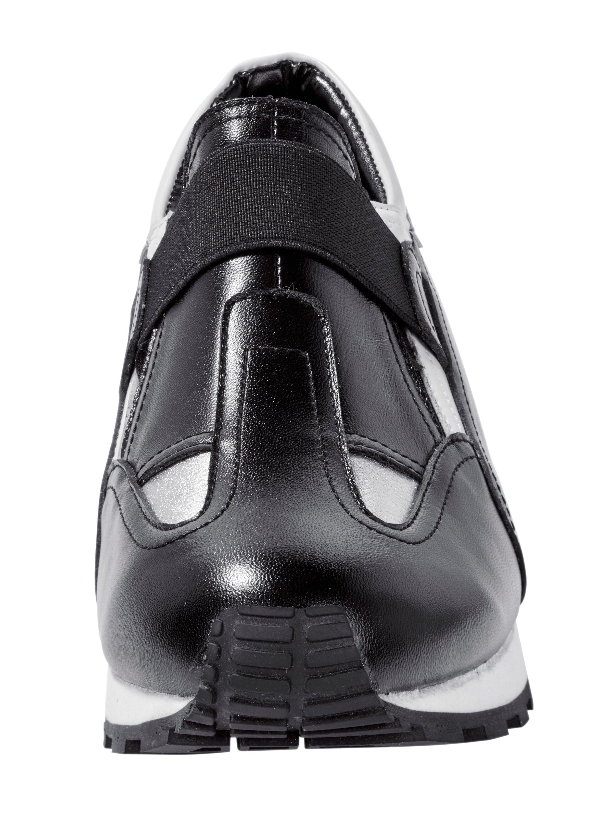 Conti Sneaker Andrea Conti Andrea In SchwarzSilber roedCxB
