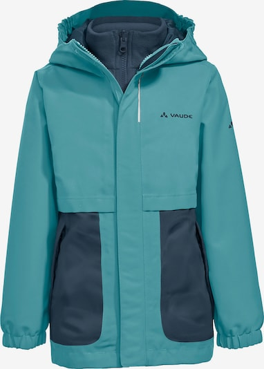 VAUDE 3 in 1 Outdoorjacke CAMPFIRE in blau, Produktansicht