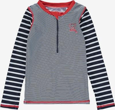STEIFF Schwimmshirt in nachtblau / rot / weiß, Produktansicht