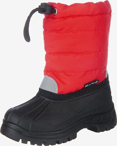 PLAYSHOES Winterstiefel in rot / schwarz, Produktansicht