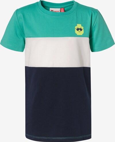 LEGO WEAR Shirt in blau / grün / weiß, Produktansicht
