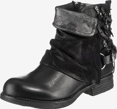 Laufsteg München Boots in schwarz / silber, Produktansicht