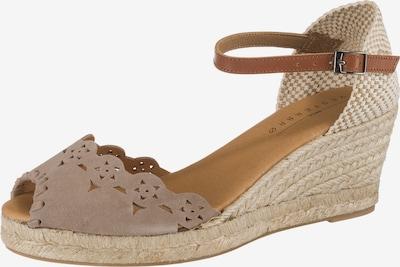 Paul Vesterbro Sandaletten in hellbeige, Produktansicht