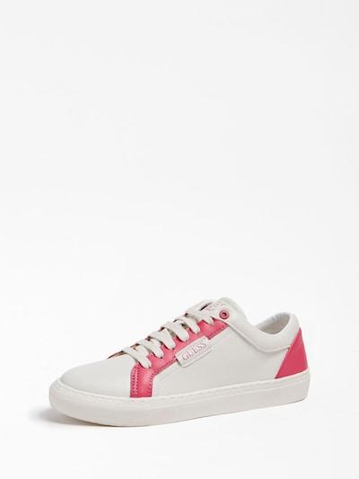 GUESS KIDS Sneaker in pink / weiß: Frontalansicht