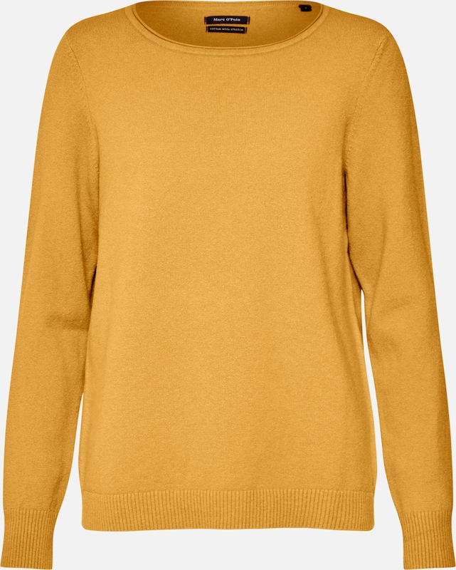 Marc O'Polo Pullover in beige / goldgelb, Produktansicht