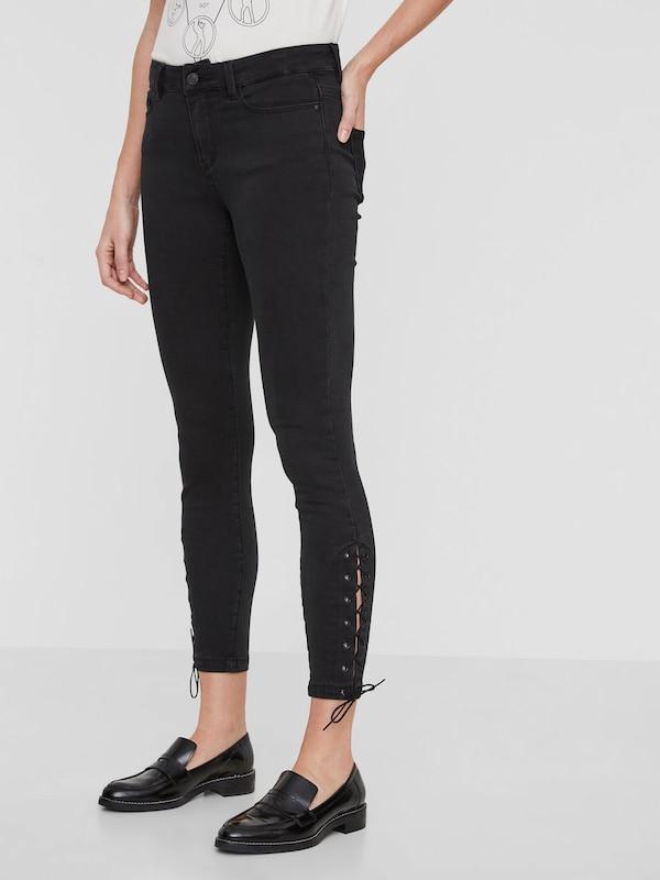 VERO MODA Jeans 'SLIM LACE UP ANKLE'