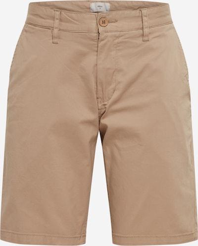 minimum Kalhoty 'frede' - khaki: Pohled zepředu