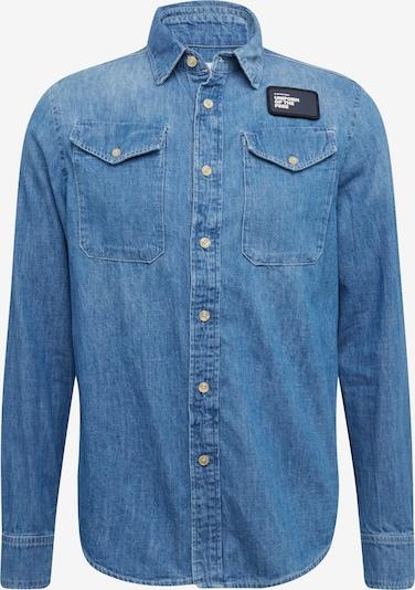 G-Star RAW Overhemd 'Bristum utility' in de kleur Blauw denim, Productweergave