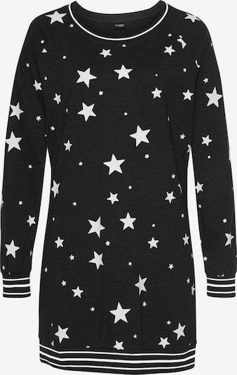 VIVANCE Nachthemd in schwarz / weiß, Produktansicht
