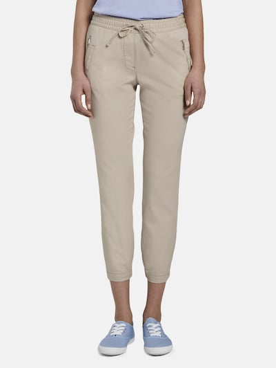 TOM TAILOR Hose in beige, Modelansicht