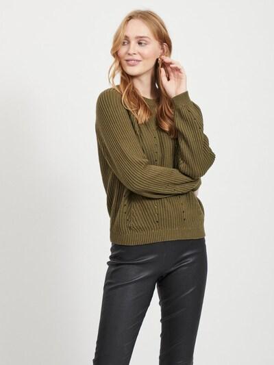 OBJECT Pullover 'OBJMAYA' in oliv, Modelansicht