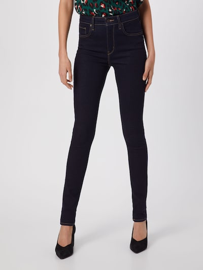 LEVI'S Jeans '721™ High Rise Skinny' in de kleur Donkerblauw, Modelweergave