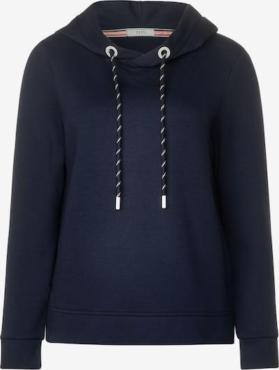 CECIL Sweatshirt in dunkelblau, Produktansicht