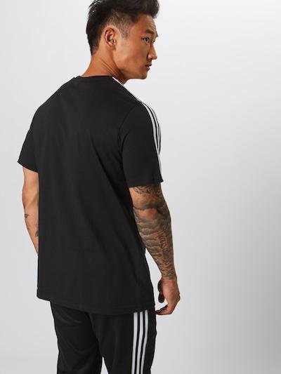 ADIDAS ORIGINALS Shirt 'Lock Up' in schwarz / weiß: Rückansicht
