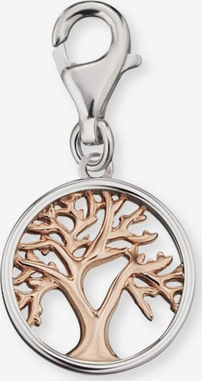 Engelsrufer Charm 'Lebensbaum' in rosegold / silber, Produktansicht