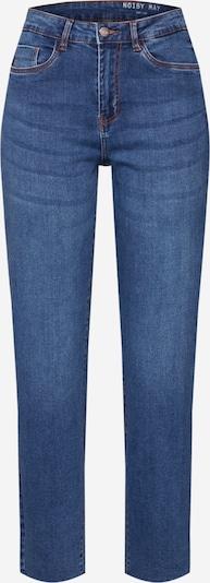 Noisy may Jeans in de kleur Blauw denim: Vooraanzicht