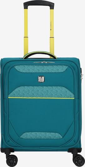 Gabol Trolley 'Giro' in de kleur Blauw / Turquoise / Limoen: Vooraanzicht