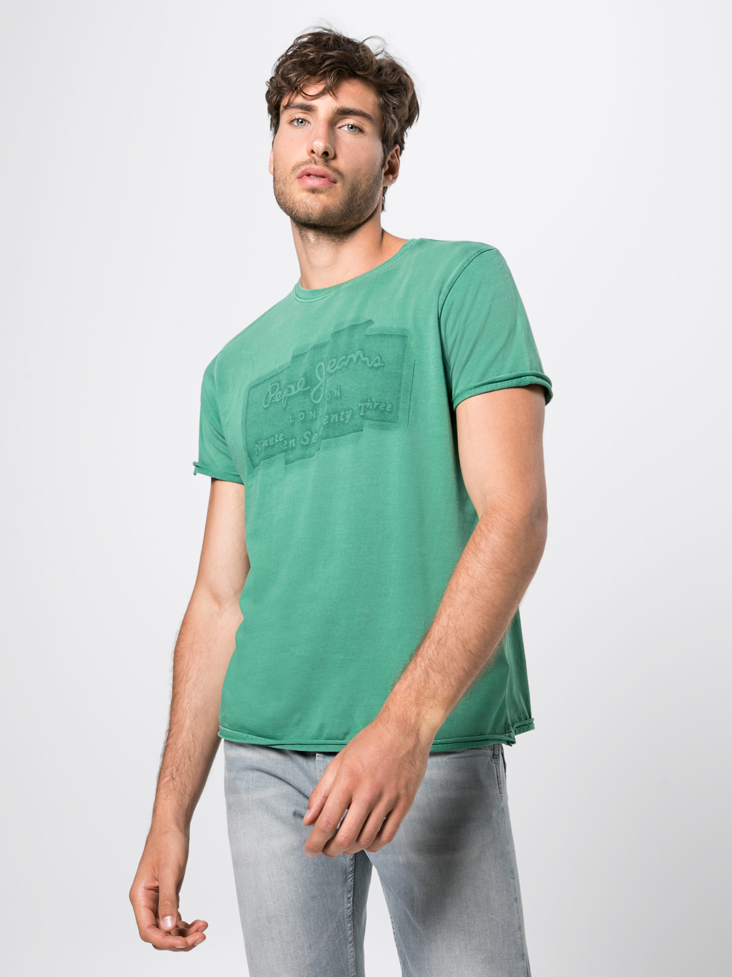 Pepe In 'izzo' Grün Jeans shirt T CtQshrd