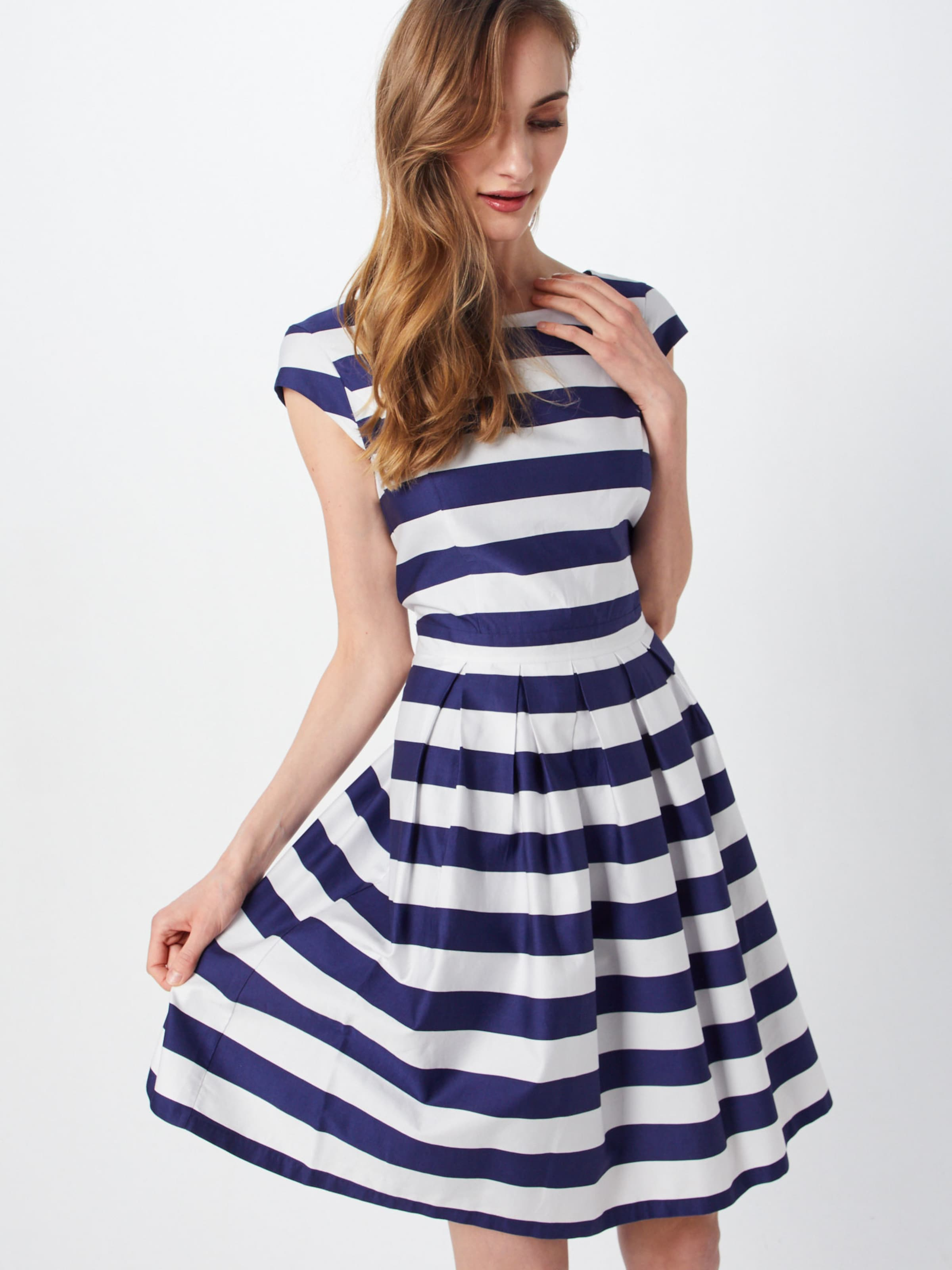 Robe En Bleu MarineBlanc Red S Label oliver WEIDH2Y9