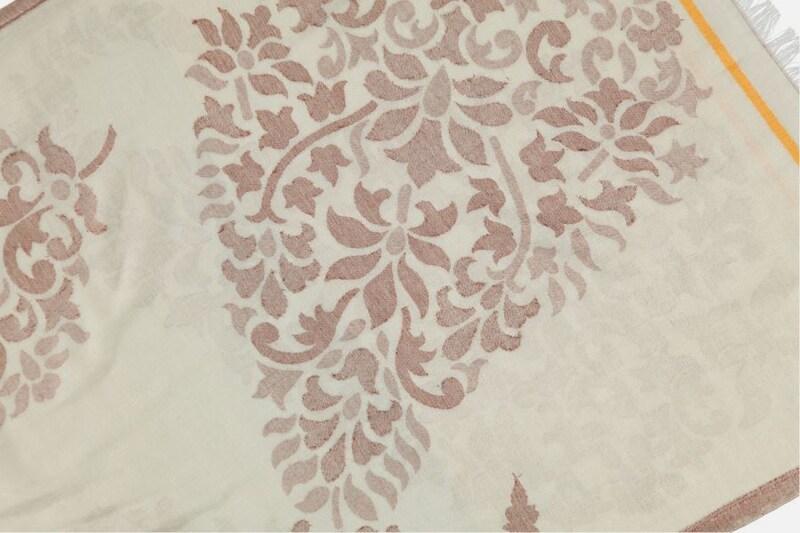 Passigatti Schal mit feinem Ornament-Muster
