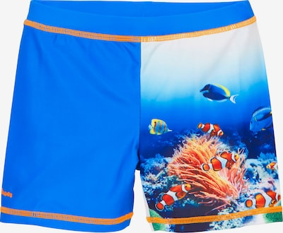 PLAYSHOES Bathing trunks in blue / mixed colours, Item view