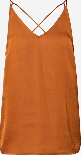 VERO MODA Top 'VMANNY SINGLET GA VO' in de kleur Brons / Sinaasappel, Productweergave