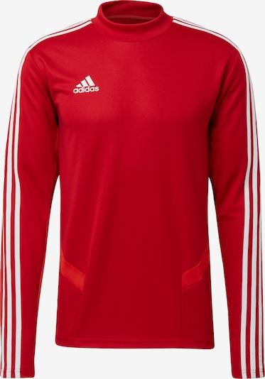 ADIDAS PERFORMANCE Trainingsjacke 'Tiro 19' in rot / weiß, Produktansicht