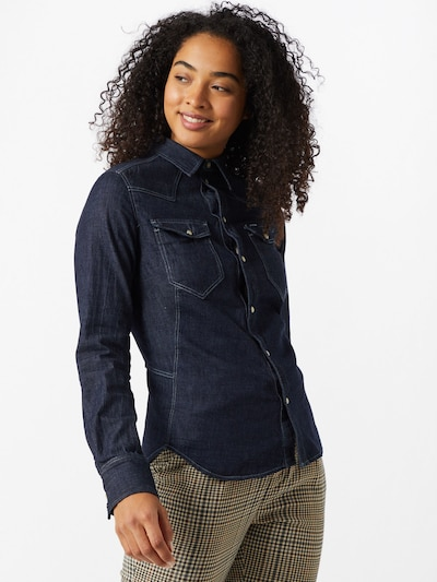 G-Star RAW Blouse in Dark blue, View model