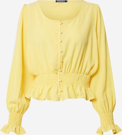 Rut & Circle Chemisier 'FREYA' en jaune, Vue avec produit