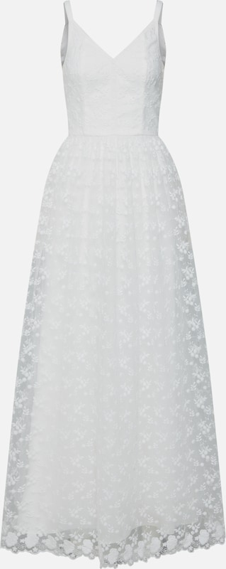 Chi Chi London Brautkleid in weiß: Frontalansicht