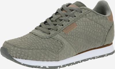WODEN Sneaker 'Ydun Croco' in khaki, Produktansicht