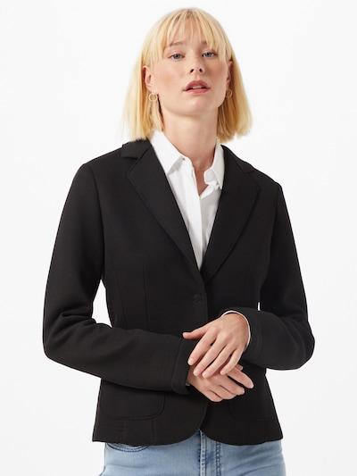 OPUS Blazers 'Jabine' in de kleur Zwart, Modelweergave