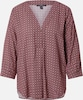 Esprit Collection Bluse in mischfarben / bordeaux