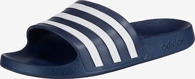 ADIDAS PERFORMANCE Schuh 'Adiletten' in dunkelblau / weiß, Produktansicht