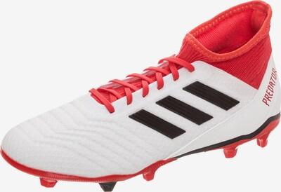 ADIDAS PERFORMANCE Fußballschuh 'Predator 18.3 FG' in rot / schwarz / weiß, Produktansicht