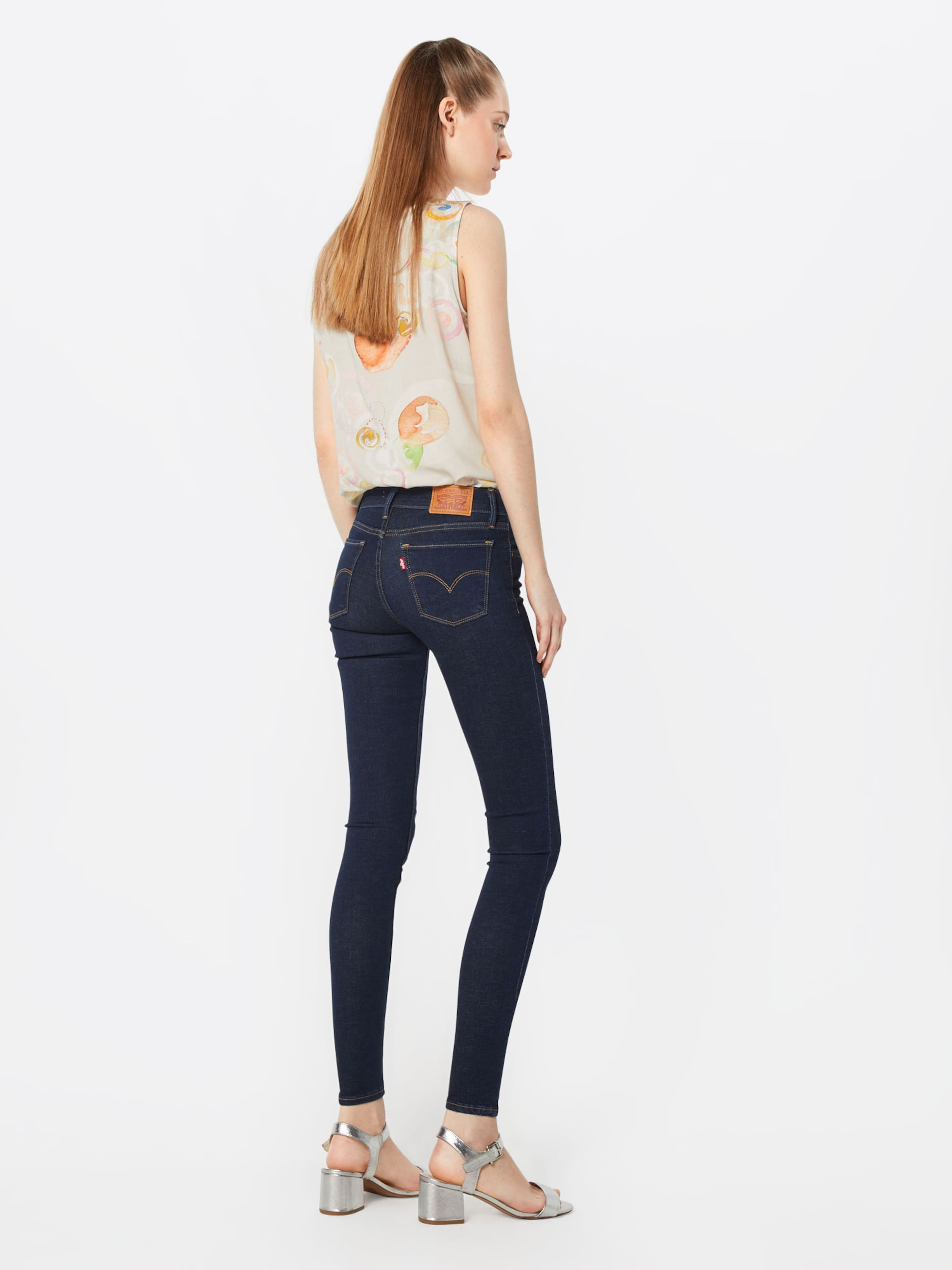 In Jeans '710 Skinny' Blauw Denim Super Innovation Levi's nXBfxZqzq
