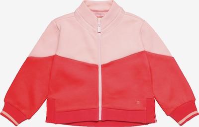 ESPRIT Sweatjacke in rosa / knallrot, Produktansicht