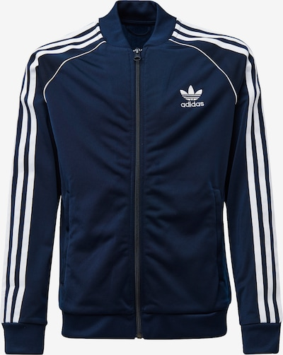 ADIDAS ORIGINALS Tussenjas in de kleur Navy / Wit, Productweergave
