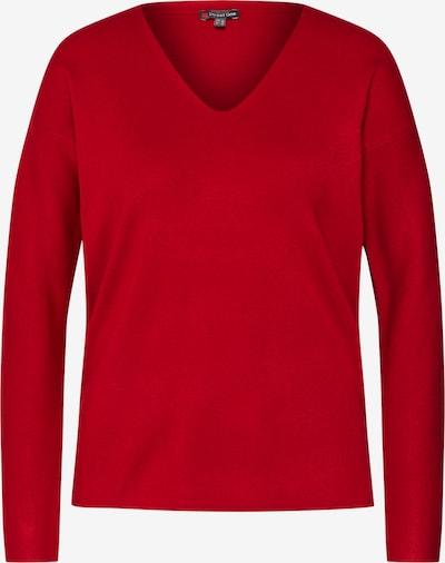STREET ONE Pulover 'LTD QR Coralie' | rdeča barva: Frontalni pogled