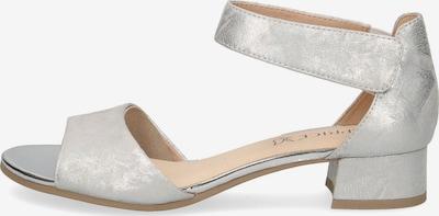 CAPRICE Klassische Sandaletten in silber, Produktansicht