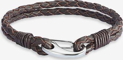 Rafaela Donata Echtlederarmband zweisträngig in braun, Produktansicht