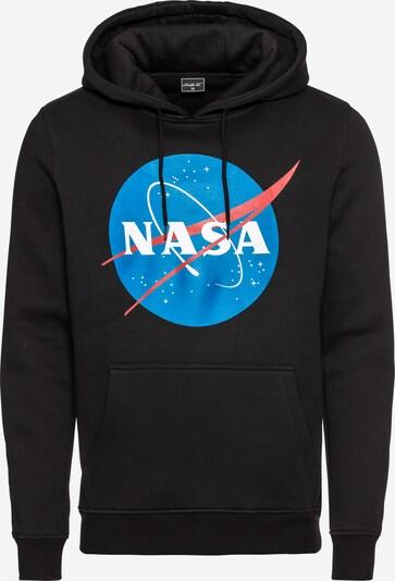 Mister Tee Sweatshirt 'NASA' in blau / rot / schwarz / weiß, Produktansicht