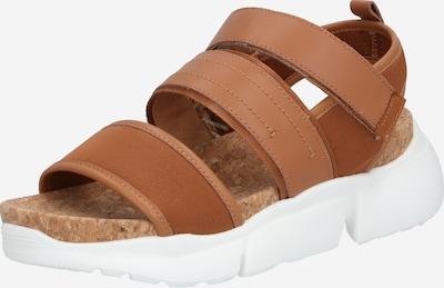 Shoe The Bear Sandalen 'MALA SPORT L' in braun / weiß, Produktansicht