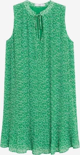 MANGO Kleid in hellgrün / weiß, Produktansicht