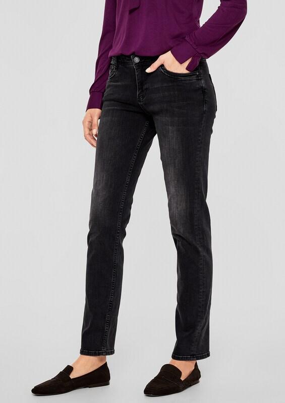 S.Oliver rot LABEL Jeans in schwarz denim  Mode neue neue neue Kleidung 7fb316