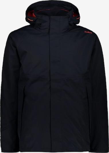 CMP Jacke '3-in-1 Softshell' in dunkelblau / rotmeliert, Produktansicht