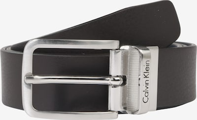 Calvin Klein Ledergürtel 'MINO' in braun: Frontalansicht