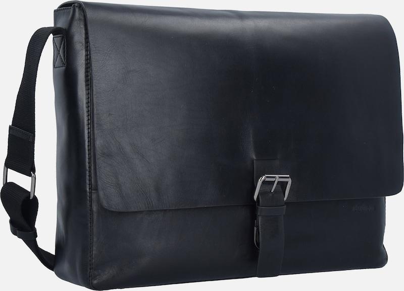 STRELLSON 'Scott' Messenger Tasche Leder 39 cm Laptopfach